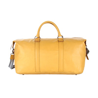 Buy Premium Quality Yellow Luggage Leather Bags