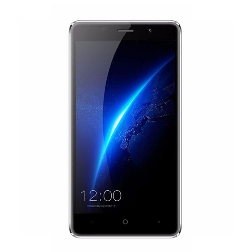 LEAGOO M5 5.0 Inch 16GB ROM Freeme OS 6.0 Smartphone,MTK6580A Quad Core 1.3GHz, 2GB RAM GSM & WCDMA Dual Camera Unlocked Smartphone (Gray)