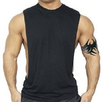 New design Men's Fitness Gym Tanks Top Bodybuilding Workout Sleeveless Shirts Singlet