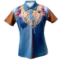 wholesale cool play low price sublimation print custom dry fit men polo darts shirts