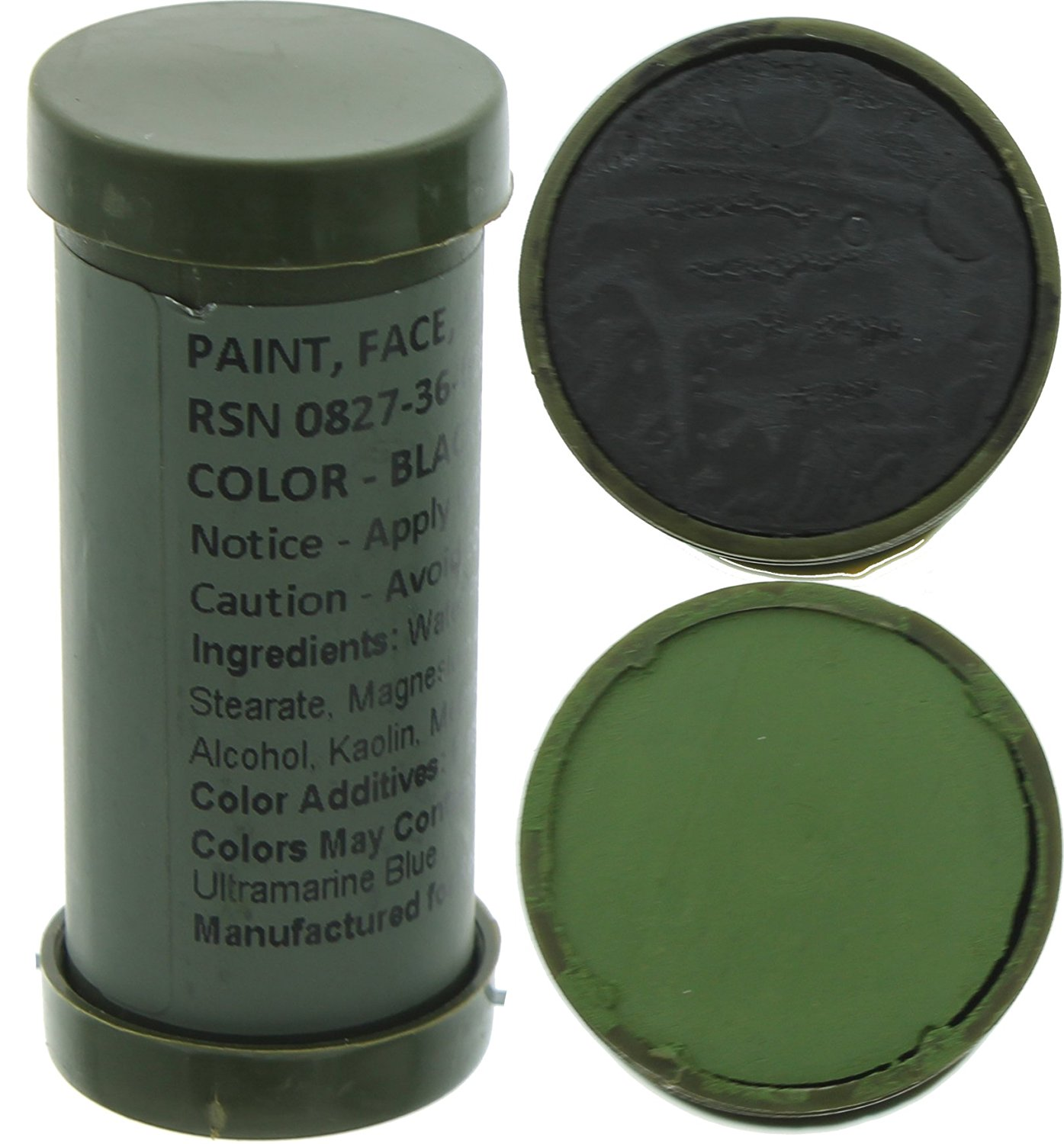 Camo Face Paint, NATO Military Camouflage Outdoor Makeup Jungle Paint Sticks