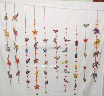 Door Hanging Designs nw artisan hardware overhead sliding door track interior sliding doors hardware Designer Birds Indian Rajasthani Wall Hangingdoor Hanging