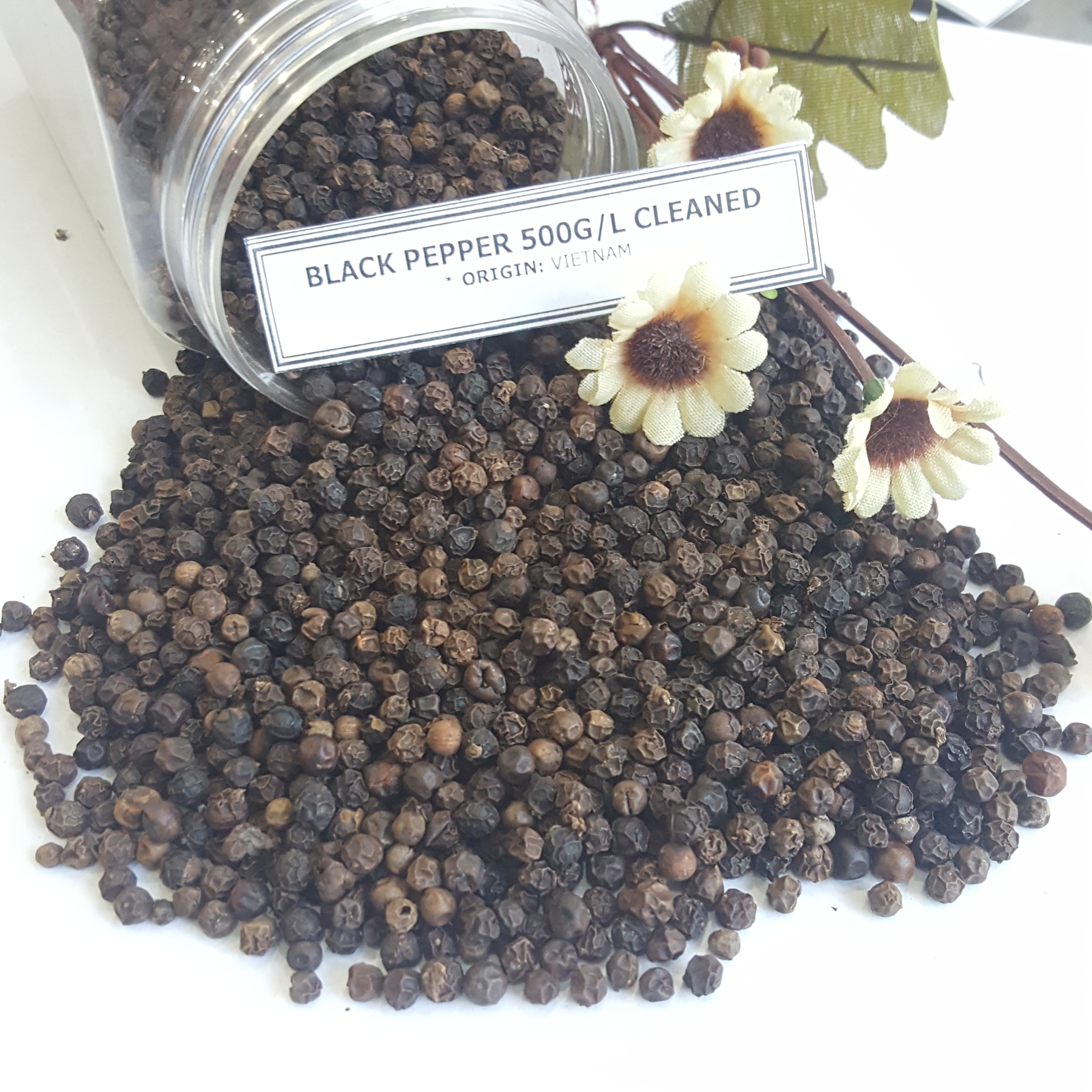 Whole Black pepper, white pepper BIG QUANTITY FOR SALES