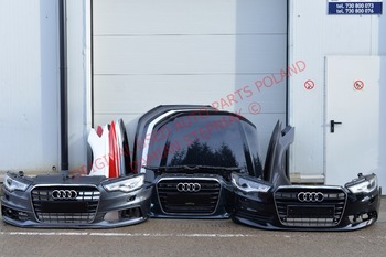 Used Original Car Parts Audi A C G Hood Bumper - Audi a6 parts