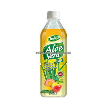 Pear Flavor Aloe Vera Drink in 500ml PET bottle from VietNam's Farm