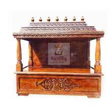 Wood Handmade Temple