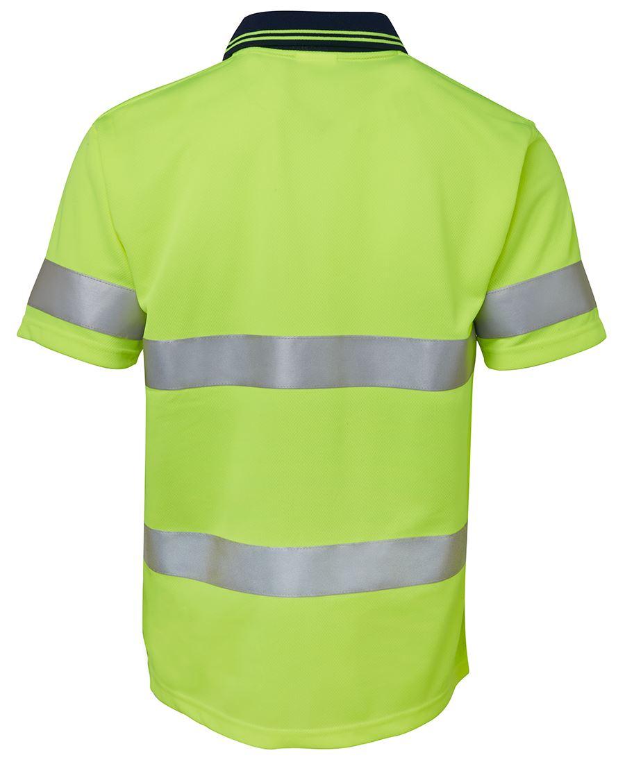 Nuevo Hi Viz Camiseta Cuello Redondo Manga Corta Visibilidad Seguridad Trabajo alta Vis