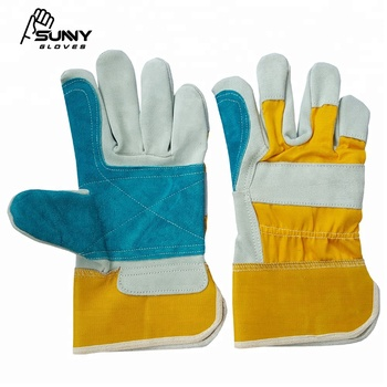 Best Quality Cowhide Split Leather Work Gloves 707 Canadian Rigger
