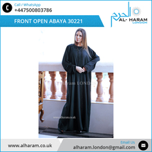 En gros Plaine <span class=keywords><strong>Noir</strong></span> Usage Quotidien Traditionnel <span class=keywords><strong>Femmes</strong></span> <span class=keywords><strong>Abaya</strong></span>