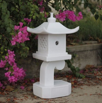 Marble Resin Modern Pagoda Lantern For Garden,Decorative Lantern For Yard ,  Buy Japanese Pagoda Lantern,Garden Stone Lanterns,Large Garden Lanterns