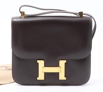2f4602f12c3 Used brand designer HERMES Box calf shoulder bags for bulk sale. Many Brands  available.