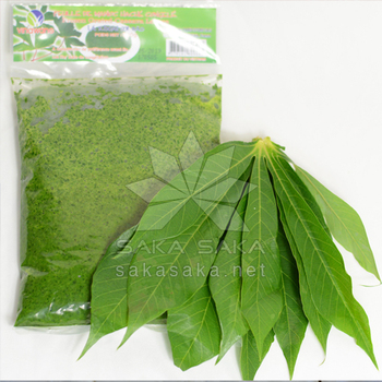 Frozen cassava leaves high quality from Vietnam