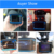 2 in 1 anti police gps speed laser camera detector car dvr radar detector