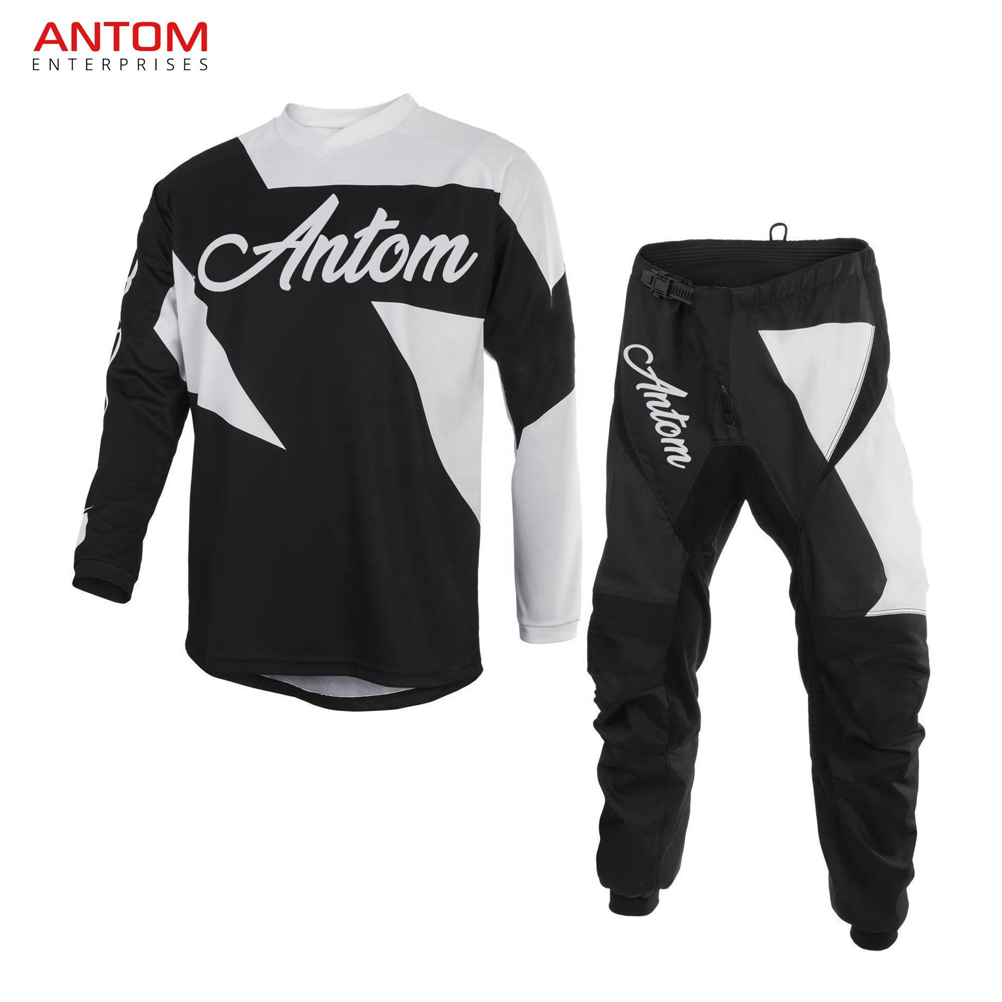 Protective Gears Motocross Suit Dirt Bike Riding Jacket Jersey Pant New Design Motocross Suit Made By Antom Enterprises View Motocross Race Suit Men Big Size M 3xl 4xl Customized Product