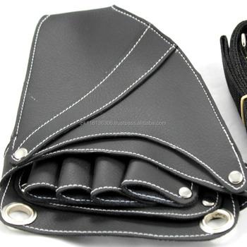 Hairdresser Scissor Case Barber Holster Leather