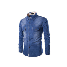<span class=keywords><strong>Chemises</strong></span> <span class=keywords><strong>en</strong></span> <span class=keywords><strong>Denim</strong></span> <span class=keywords><strong>Couleur</strong></span> Unie Fabriqué Au Pakistan