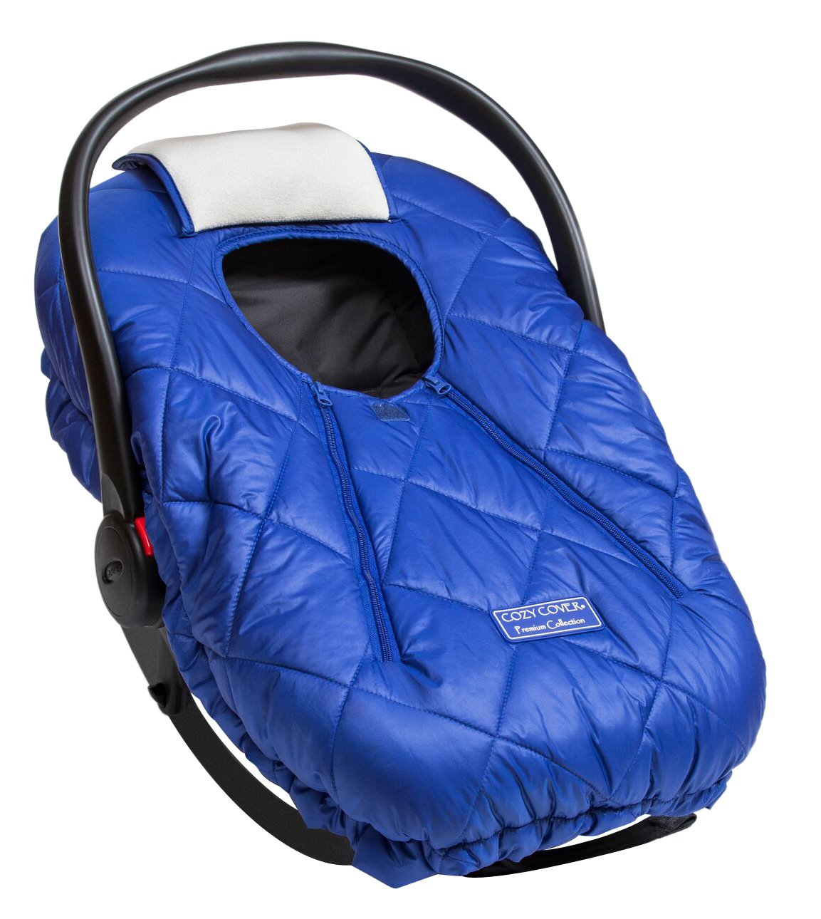 612d6421327 Get Quotations · Cozy Cover Premium Infant Car Seat Cover (Blue) With Polar  Fleece - The Industry