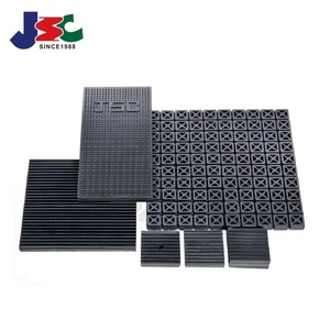 Anti vibration rubber pad noise attenuation vibration proof rubber pad