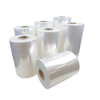 High Quality Pre Stretch Up To 300% LLDPE Transparent PE Stretch Film Jumbo Roll