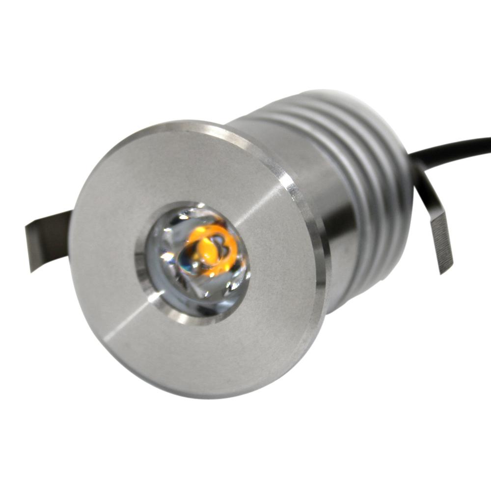 3 واط IP68 316 الفولاذ المقاوم للصدأ 12 فولت لمبة ليد موجهة صغيرة للسقف ليد خارجي مقاوم للماء بقعة ضوء