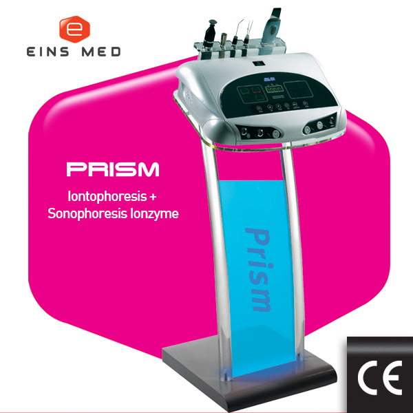 Prisma iontophorese maschine und sonophoresis-einsmed (made in korea)