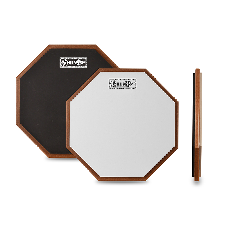 Percussion Instruments Silicone 2-side 12 inch Drum Practice Pad