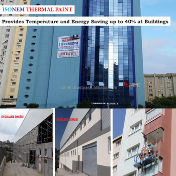 Isonem Thermal Paint For Walls Exterior Interior Heat Insulation And Extraordinary Exterior Wall Waterproofing Model Property