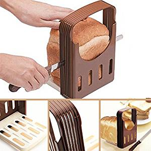 Practical Bread Cutter - Toast Slicer - Bread Slicer for Homemade Bread & Loaf Cakes - Knife Slicing Guide - Loaf Sandwich Bread Slicer - Toast Slice Cutter Mold - Cutting Slicing Guide Kitchen Tool