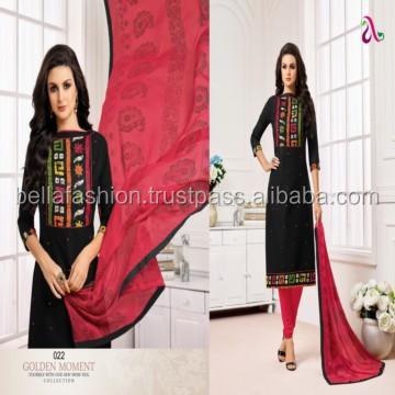 Other Women's Clothing Modest Designer Stylish Velvet Embroidery 3pc Stich Salwar Kameez Suit Bollywood