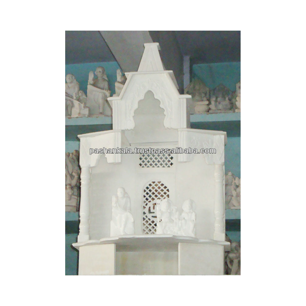 White Marble Indian Temples For Home Decoration Buy Home