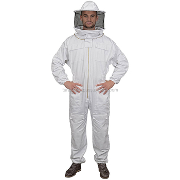 Beekeeping Suit All in One Fencing Veil Total Protection for Professional & Beginner Beekeepers