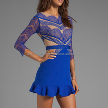 Oem Service Latest Hot Selling Sexy Lady Party Dress