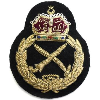 Malayashiya Army Officers Bullion Wire Cap Badge - Buy Malayashiya Army  Officers Bullion Wire Cap Badge,Embroidered Bullion Wire Blazer Badges,Uk