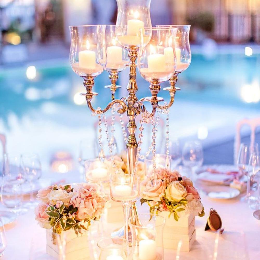 Tall Wedding Candelabra Centerpiece Buy Wedding Centerpieces And