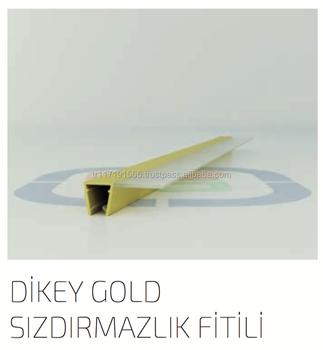 Sf 01 Transparentgoldschwarzbronz Magnet Dichtung Streifen Für