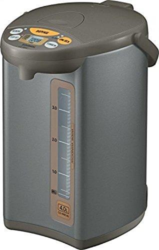 Zojirushi CD-WBC40-TS Micom 4-Liter Water Boiler And Warmer, Silver BrownGY#583-4 6-DFG276086