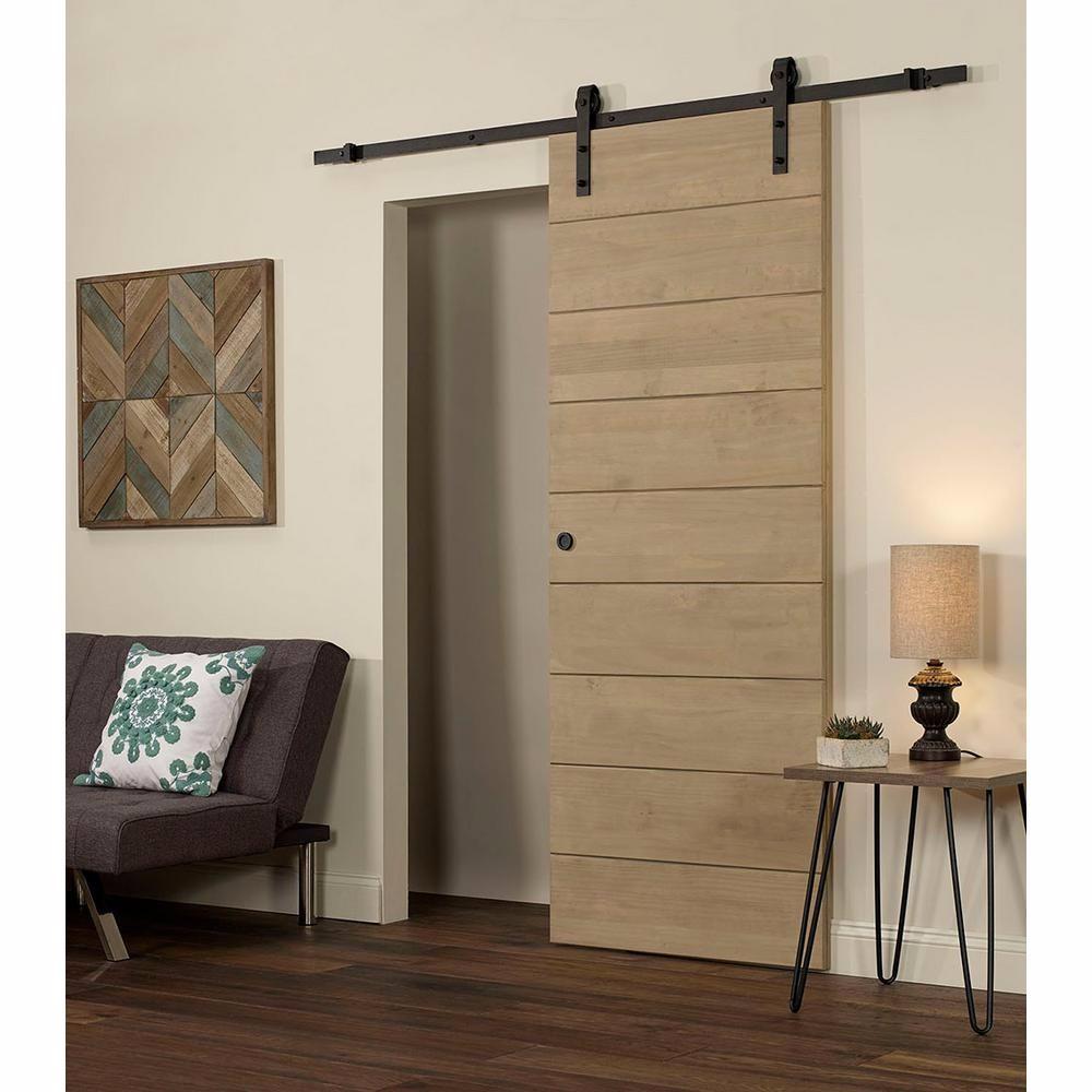 Shaker Style Horizontal Plank Bypass Barn Door Buy