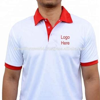 Contrast Polo T Shirt Drifit Breathable