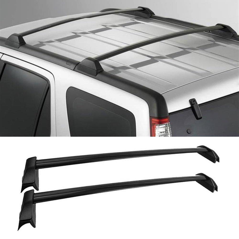 For Honda CRV 2002-2006 Top Roof Rack Cross Bar Set Black Aluminium