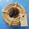 Jute Rope/Eco-friendly natural strong jute/Twisted Cord 100% Recyclable jute rope