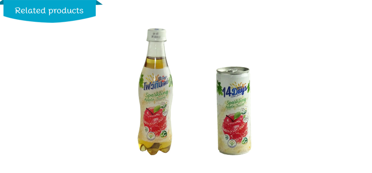 14 Days Sparkling Apple Concentrated Juice 230ml