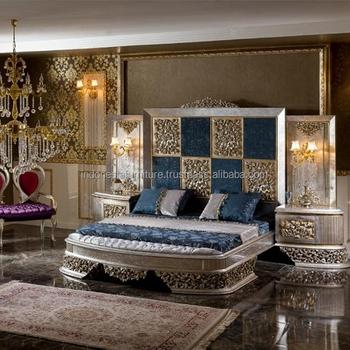 Luxury Bedroom Set Silvera Clic