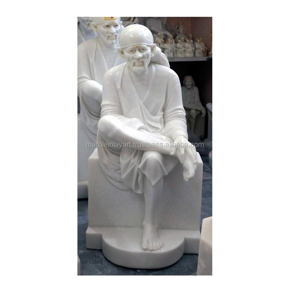 Marmer Putih Shirdi Sai Baba Statue Buy Patung Rama Sita Babalord Statuehandcrafted Product On Alibabacom