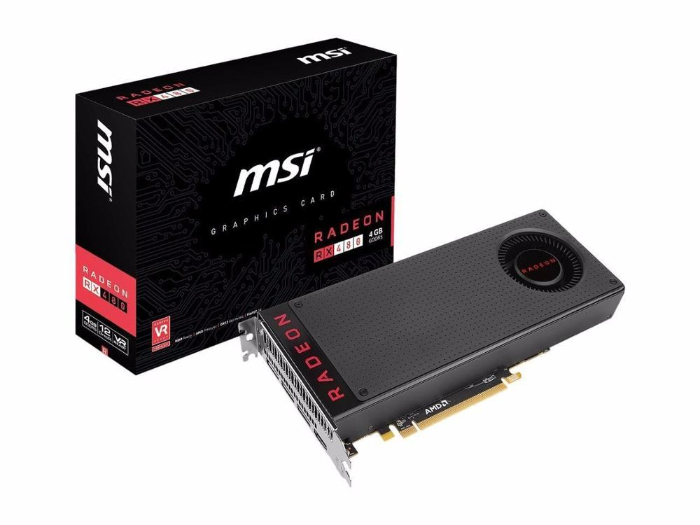 Discount Price For SAPPHIRE RX 480 8GB GDDR5 AMD Polaris VR Ready Graphics Video Card