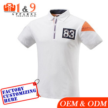 100% cotton custom your own design high quality fashion style polo t-shirt