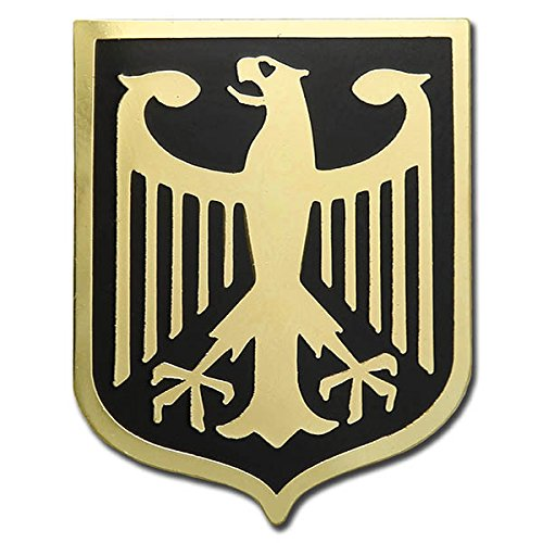 d897f74d74d34 Get Quotations · GERMANY EAGLE COAT OF ARMS GERMAN CREST GOLD PLATED  PREMIUM LAPEL PIN GIFT BOX POUCH VEGASBEE