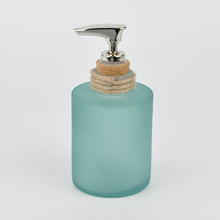 Runde Zylinder Form Design Glas Lotion <span class=keywords><strong>Spender</strong></span>