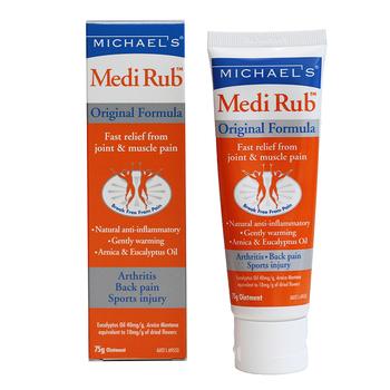 Pain Relief Cream - Natural Medi Rub Tube 75g For Joint & Muscle Pain - Buy  Pain Relief Cream,Joint Pain Cream,Pain Relief Massage Cream Product on