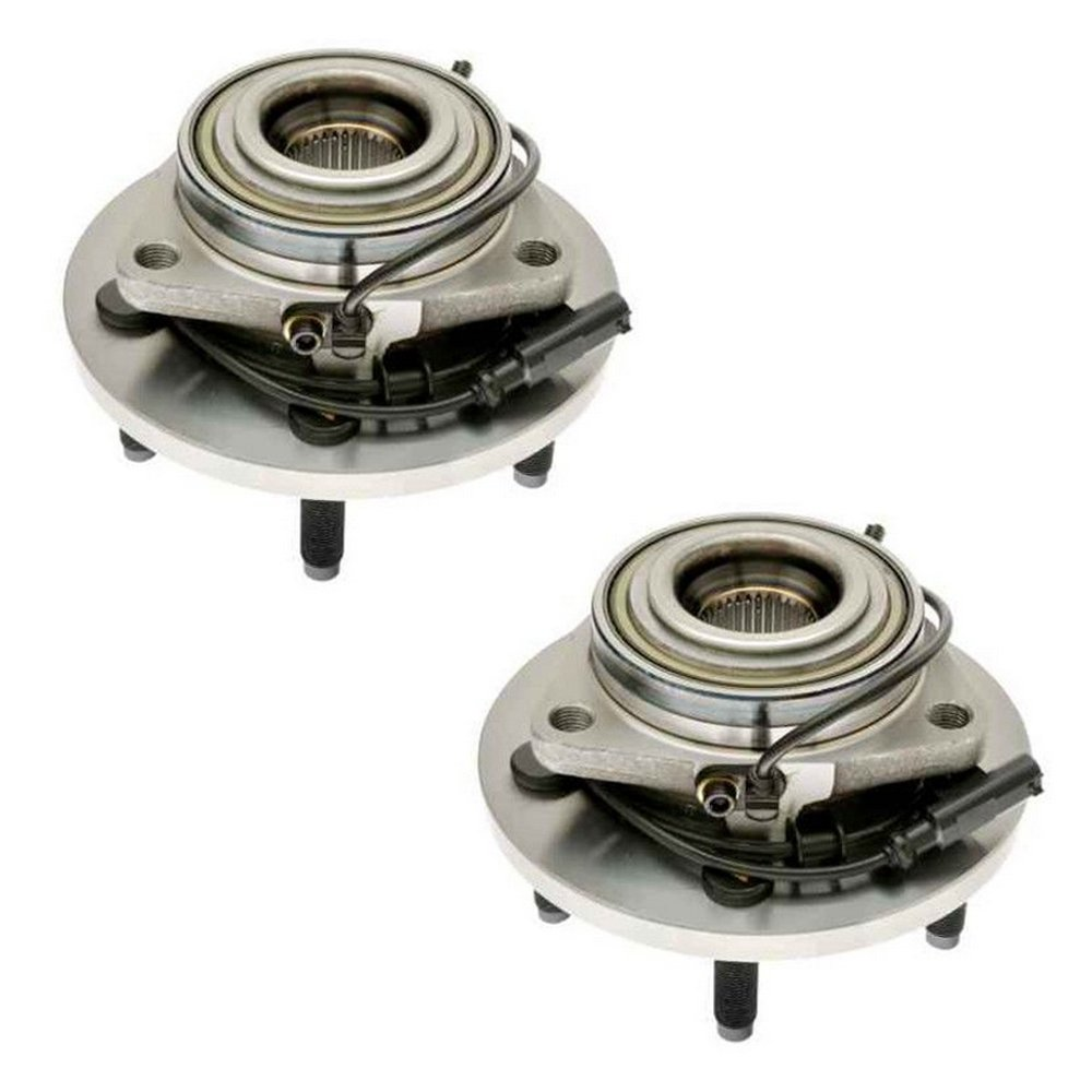 DRIVESTAR 515046 1 New Front 6 Lugs Wheel Hub /& Bearing Assembly fits F-150 Heritage 4x4 4WD