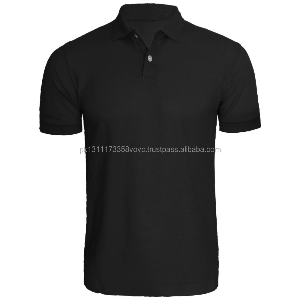 3 Pack Mens Polo Shirt T Shirt Blanco Korte Mouw
